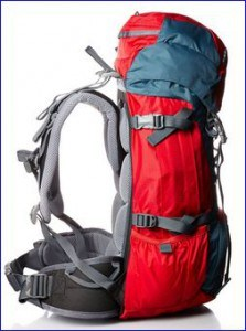 Deuter Fox 30 - side view.