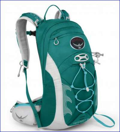 Osprey Tempest 9 pack, front view.