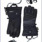 Outdoor Research Lucent heated gloves.