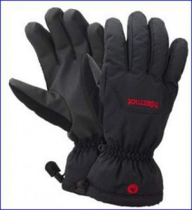 A pair of good Marmot's waterproof gloves.