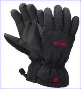 A pair of good Marmot's waterproof gloves.
