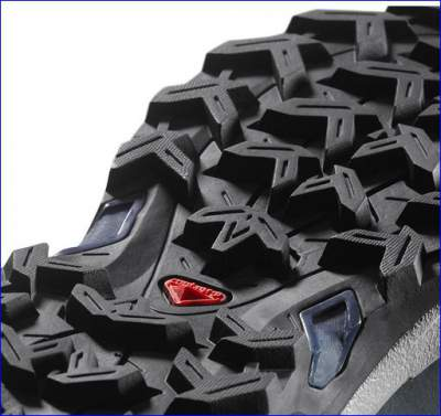 Contagrip non-marking hard rubber sole.