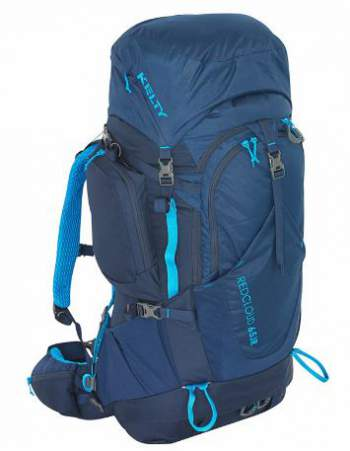 Kelty Red Cloud 65 Junior internal frame pack.