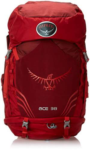 Osprey Ace 38 backpack for youth.