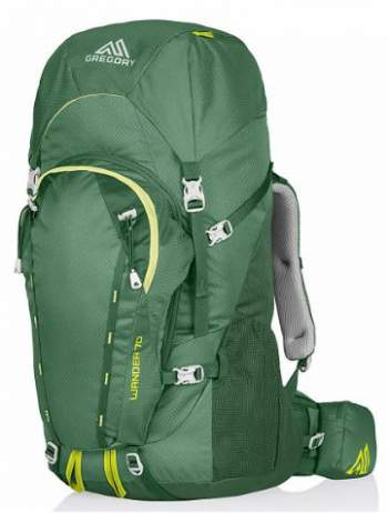 Gregory Wander 70 backpack.