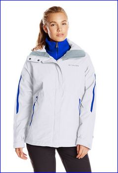 Columbia Bugaboo 3 in 1 jacket. The blue is the internal jacket.