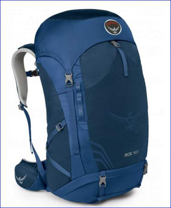 Osprey Ace 50 - front view.