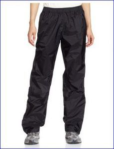 Patagonia Women's Rainproof Torrentshell Pants.