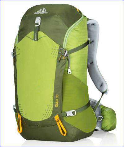 Gregory Zulu 30 - a great day pack.