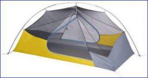 Nemo Blaze: non-freestanding tent.