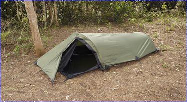 Snugpak Ionosphere 1 person tent.