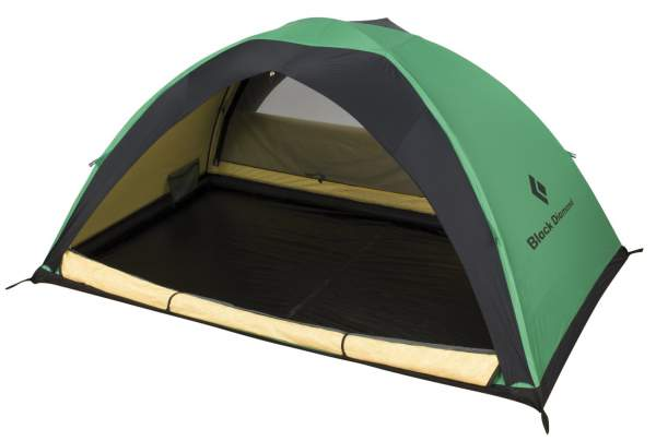 Black Diamond Ahwahnee tent: single wall and with Todd-Tex fly.