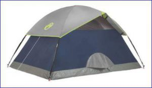 Awning on the back side. & Coleman Sundome 2 Person Tent Review - Great Price Tent ...