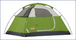 The tent without the fly.