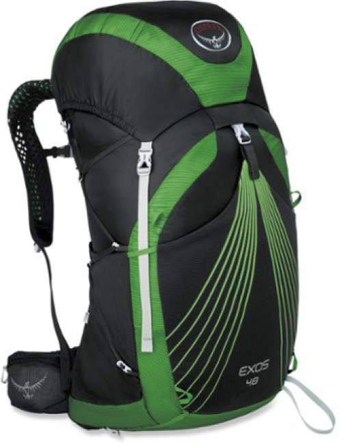 Exos 48 pack front view.