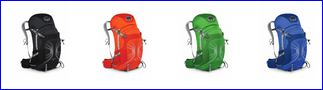 Osprey Stratos 36 colors