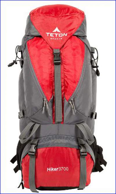 Hiker 3700 front view.