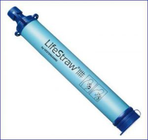 LifeStraw water filter.