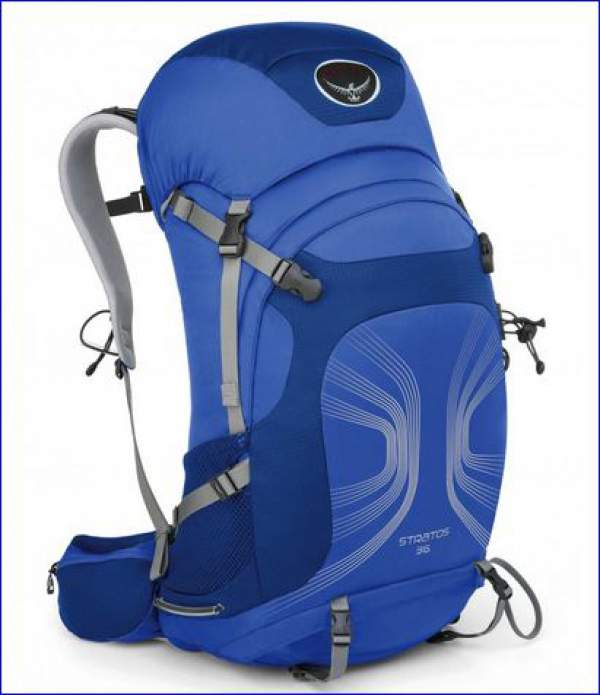 Osprey Stratos 36 backpack.