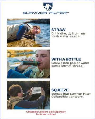 Several ways of using the Survivor Filter.
