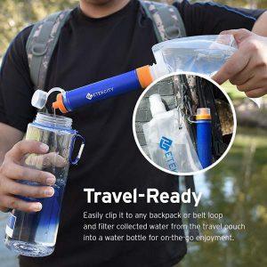 Storing clean water.