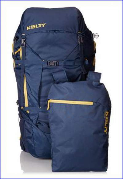 The front pocket detached from the pack doubles as a day pack.