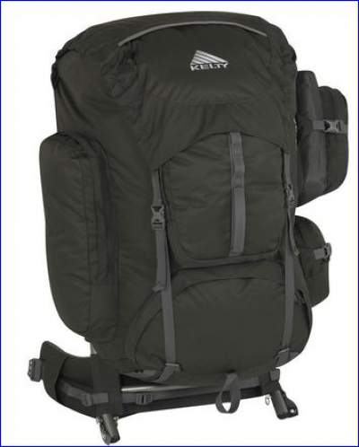 Kelty Tioga 5500 classic - front view.
