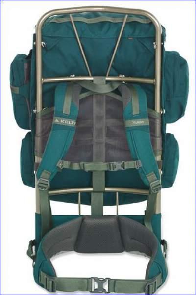 Yukon 48 backpack suspension system.