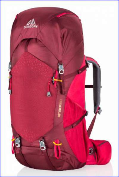 New Gregory Amber 60 - 2017 model with the adjustable harness.