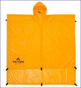 The versatile tarp-poncho.