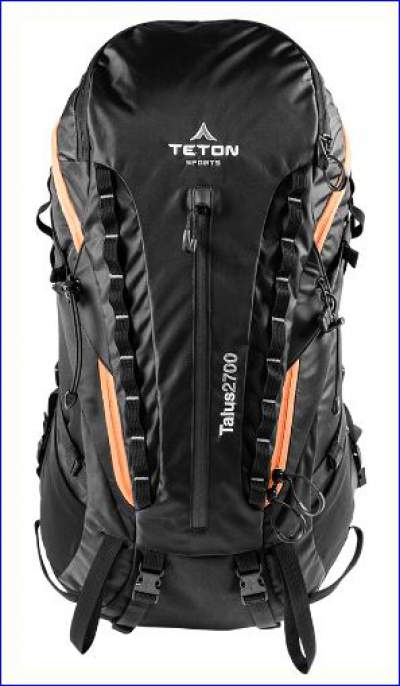 Talus 2700 pack - front view.