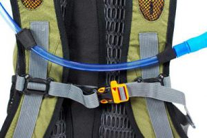 Details from the harness.