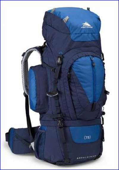 High Sierra Classic 2 Series Appalachian 75 frame pack - front view.