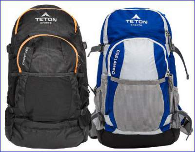 Oasis 1200 pack in two colors.