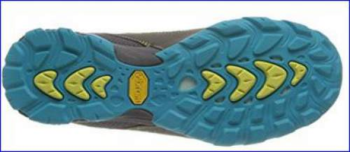 Everything in nice colors, even the Vibram sole.