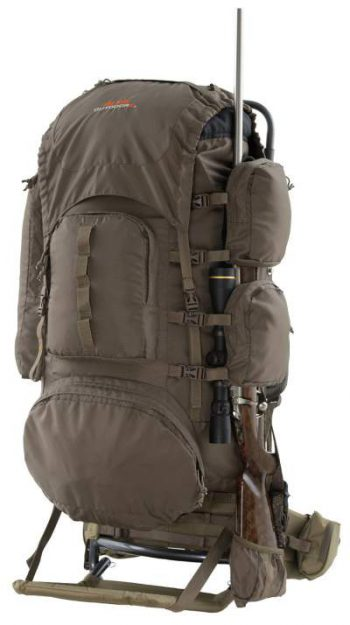 Alps Outdoorz Commander freighter with bag.