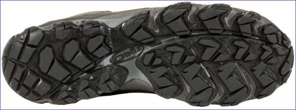 The bottom made of carbon rubber suitable for winter conditions.