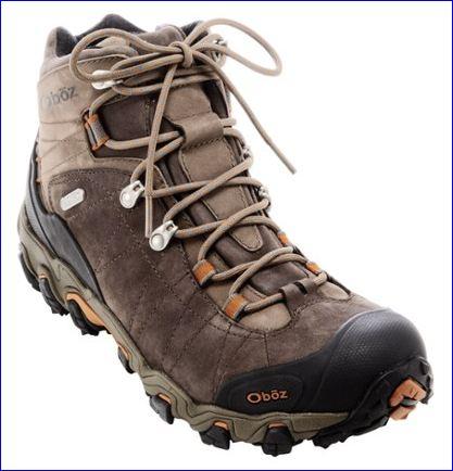 Oboz men's Bridger BDry hiking boot.