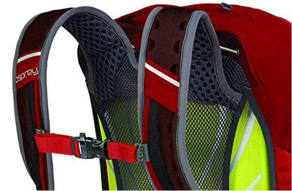 Suspension system with suspended mesh.