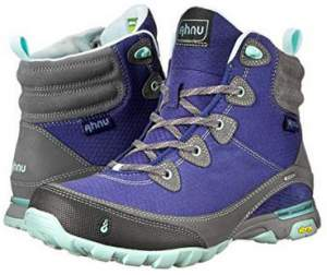 Ahnu Sugarpine synthetic boots for women.