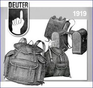 Deuter in 1919.