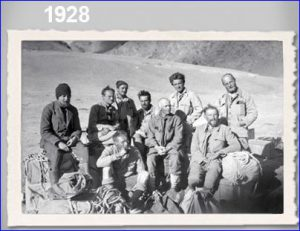 Willi Rickmer's Pamir expedition in 1928 with Deuter equipment.