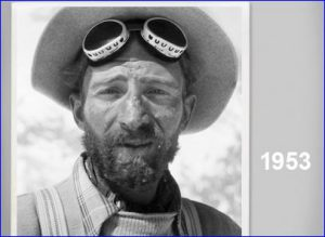 Hermann Buhl, Nanga Parbat in 1958. Yes, he used Deuter as well.