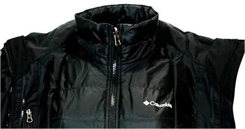 Columbia Women's Frigid Flight Long Interchange 3 in 1 Jacket - the internal jacket structure.