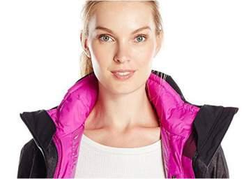 Stylish and pleasant internal fleece jacket.