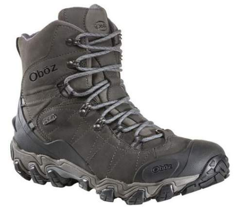 Oboz Bridger 8 Insulated BDry Hiking Boots For Men.