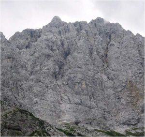Triglav north face.