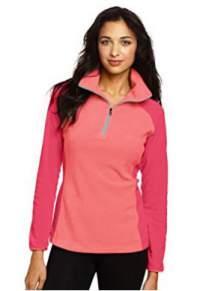 Columbia Women's Glacial Fleece III Half-Zip Jacket.
