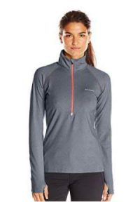 Columbia Women's Trail Summit Half Zip Shirt.