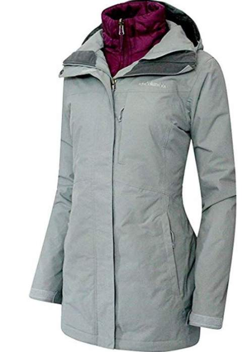 Columbia Women's Frigid Flight Long Interchange 3 in 1 Jacket .